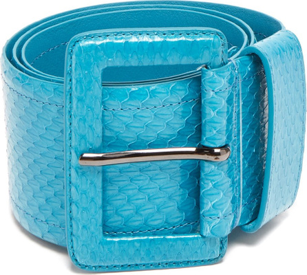 Carolina Herrera Watersnake waist belt