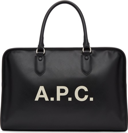 A.P.C. Black Paul Duffle Bag