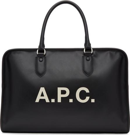 A.P.C. Black Paul Duffle Bag