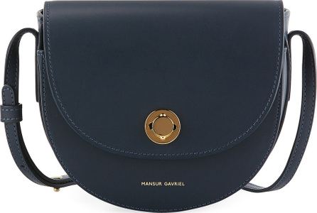 Mansur Gavriel Mini Calf Leather Saddle Bag
