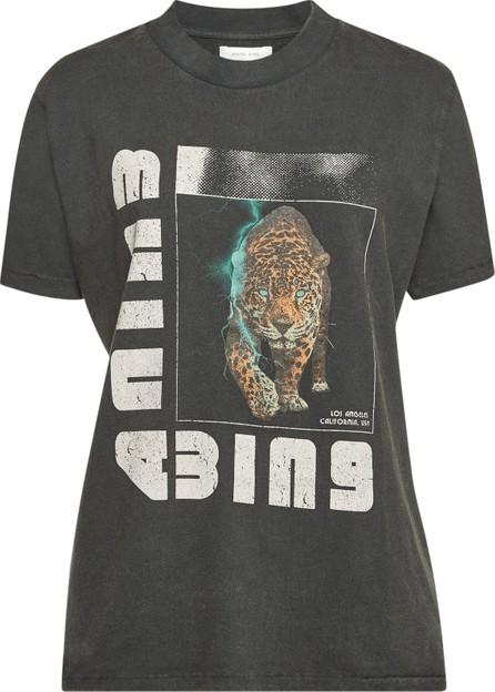 ANINE BING Cotton Wild Cat T-Shirt