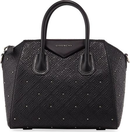Givenchy Antigona Small Studded Leather Satchel Bag