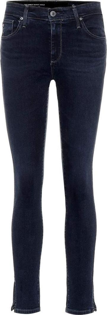 AG Jeans The Farrah high-waisted skinny jeans