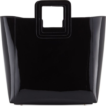 Staud Shirley Mini Patent Vinyl Tote Bag