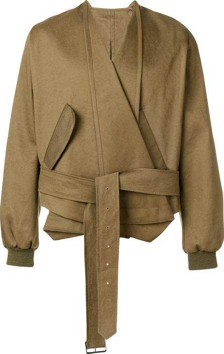 Hed Mayner Asymmetric fitted jacket
