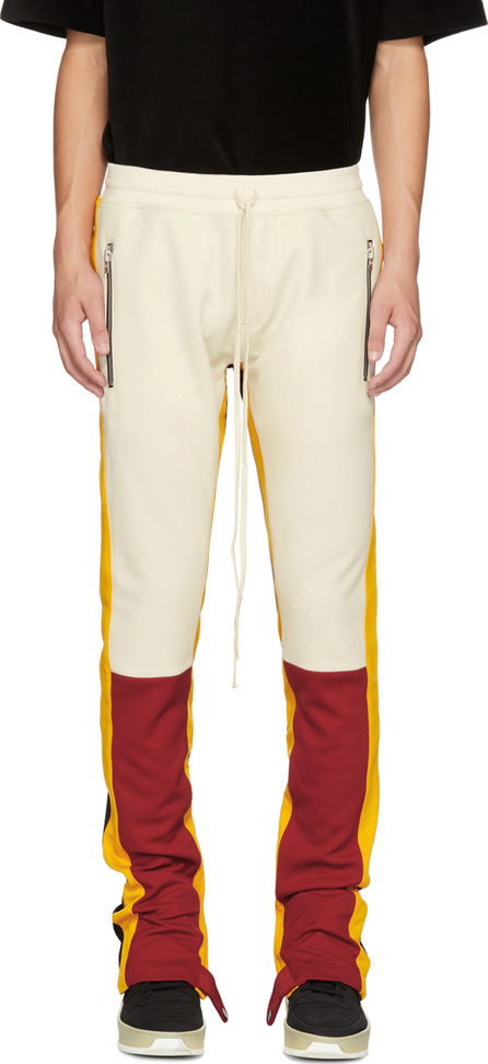 Fear of God Red & Yellow Motorcross Lounge Pants