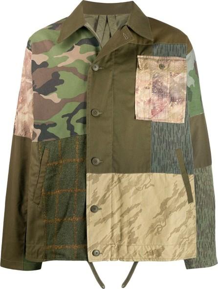 Maharishi Patchwork shirt jacket