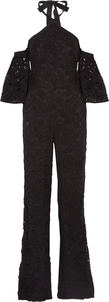 Noir Sachin & Babi Wilhelmina cold-shoulder cotton-lace jumpsuit