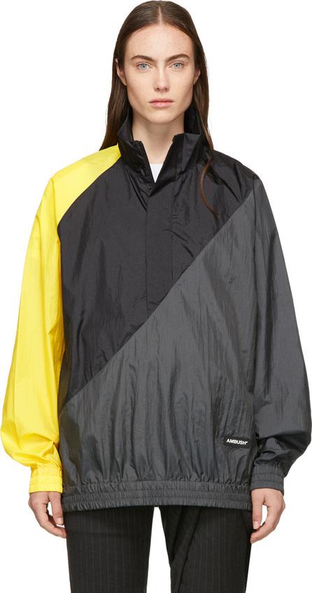 Ambush Black Nylon Pullover Jacket