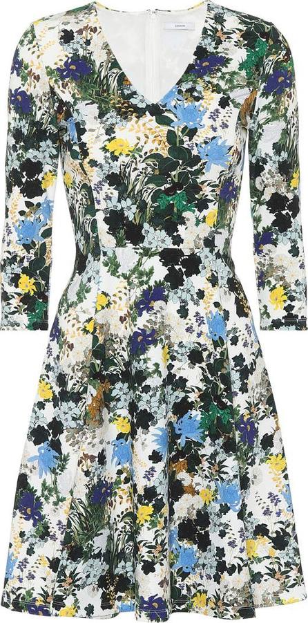 Erdem Floral jacquard dress