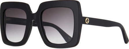 Gucci Square Acetate Gradient Sunglasses