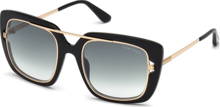 TOM FORD Marissa 02 Double Frame Square Sunglasses