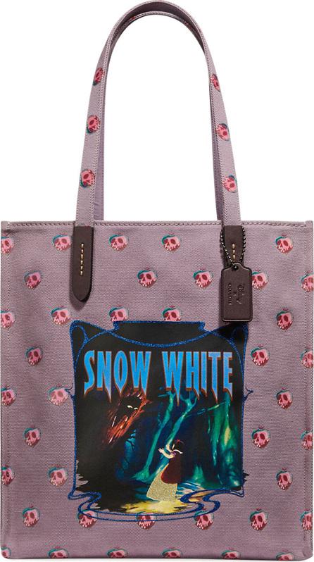 COACH 1941 Disney Dark Fairy Tale Snow White Tote Bag