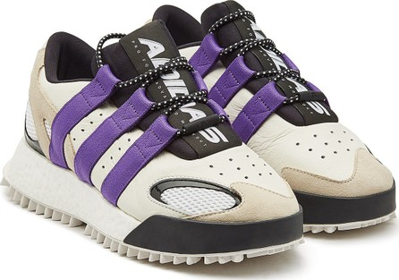 Adidas Originals by Alexander Wang Wangbody Run Leather Sneakers with Suede and Mesh