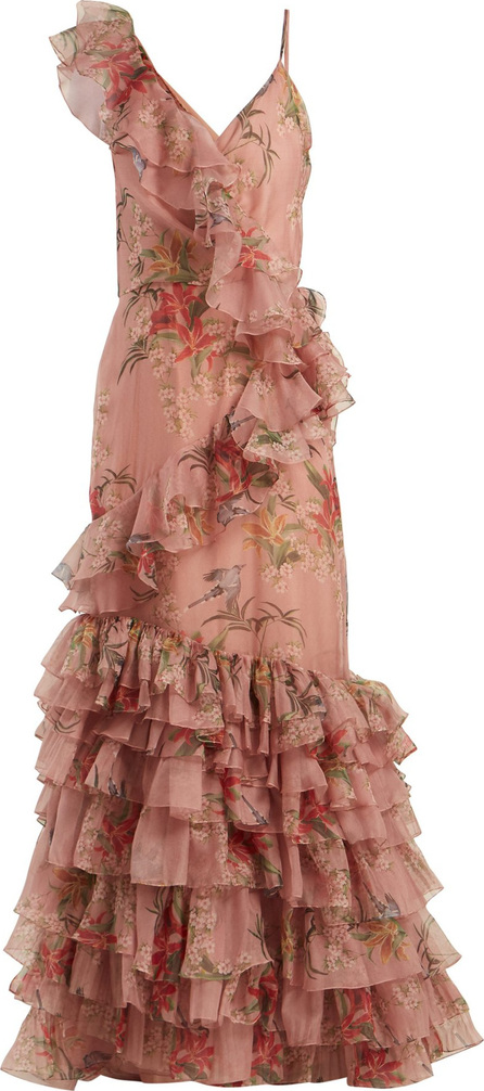 Johanna Ortiz The Place Of Silent floral-print silk gown