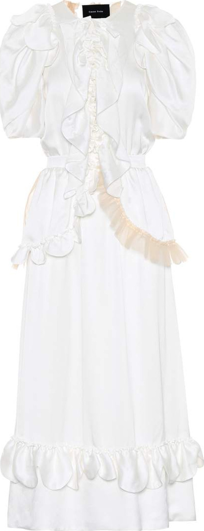 Simone Rocha Silk midi dress