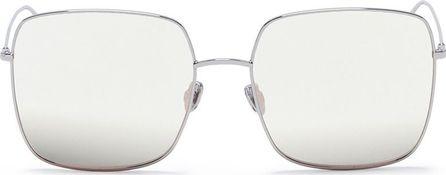 Dior 'Dior Stellaire 1' metal mirror square sunglasses
