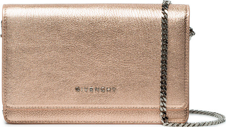 Givenchy Rose gold Pandora wallet on chain