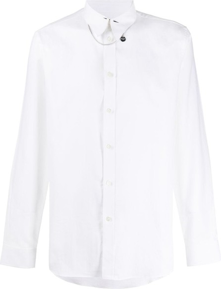 Givenchy Spiked collar slim-fit shirt