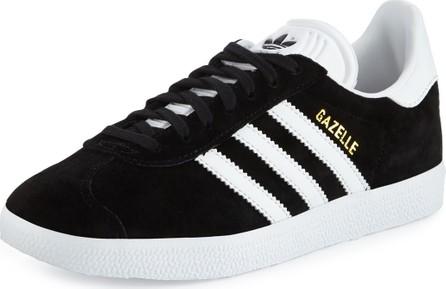 Adidas Gazelle Original Suede Sneakers, Black/White