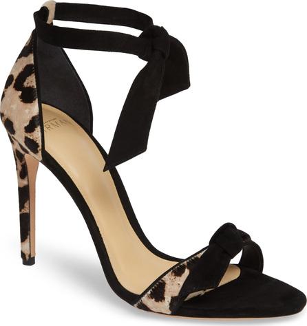 Alexandre Birman Clarita Genuine Calf Hair Ankle Tie Sandal