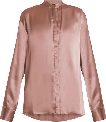 Haider Ackermann Dali oversized silk-satin blouse