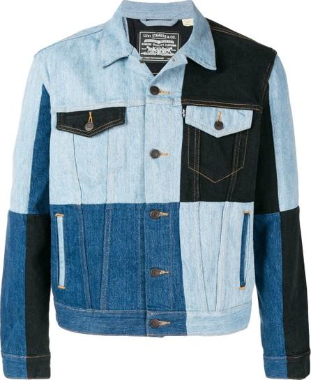 Gosha Rubchinskiy Gosha Rubchinskiy x Levi's colour block jacket
