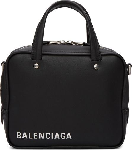 Balenciaga Black XS Triangle Square Bag