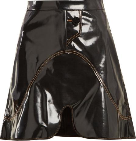 Ellery Milky-Way PVC mini skirt
