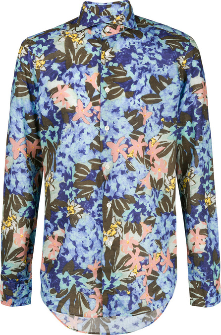 Dell'oglio Abstract floral print shirt