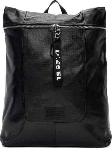 Diesel Black L-Tolle Backpack