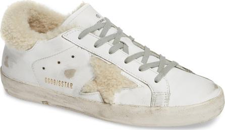 Golden Goose Deluxe Brand Superstar Genuine Shearling Trim Sneaker