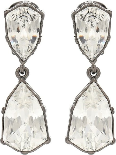 Oscar De La Renta Gallery embellished clip-on earrings