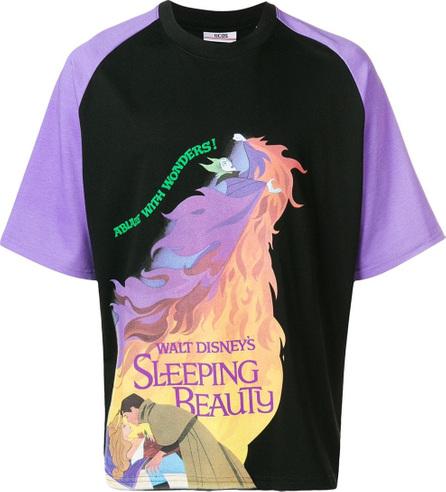 Gcds Seeping Beauty motif T-shirt