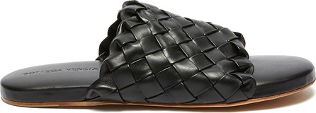 Bottega Veneta Foot Bed' Intercciato leather sandals