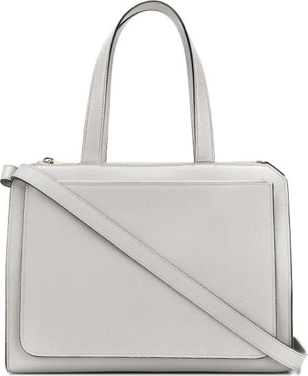Valextra structured tote