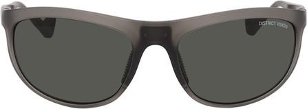 District Vision Grey Takeyoshi Altitude Master Sunglasses