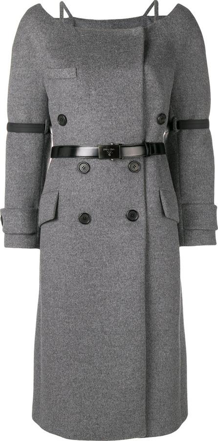 Prada Belted midi coat