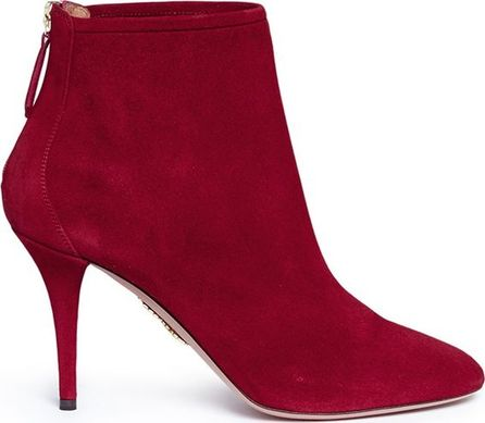 Aquazzura 'Brook 85' suede ankle boots