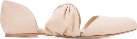 Gabriela Hearst bow ballerinas