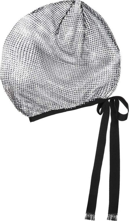 Gucci Crystal-embellished mesh mask