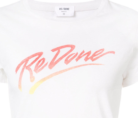 RE/DONE Logo T-shirt