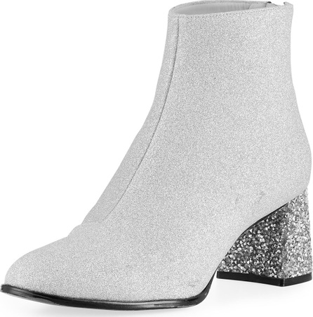 Sophia Webster Stella Glitter Mid-Ankle Booties