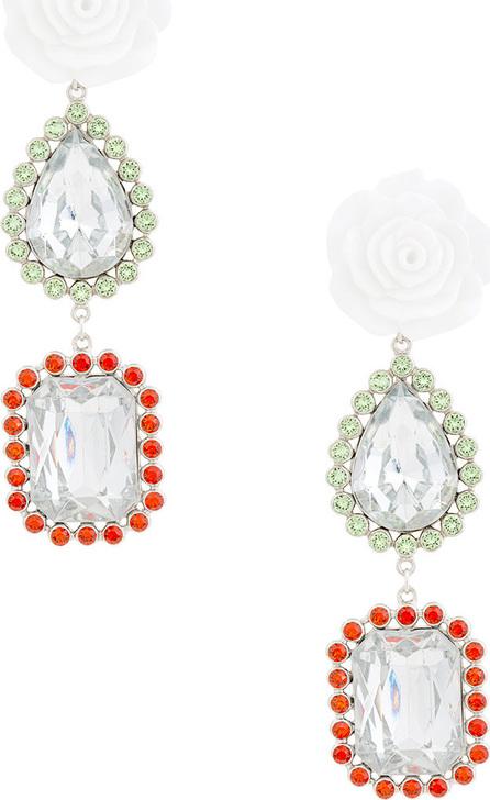 G.V.G.V. Rose drop teardrop earrings