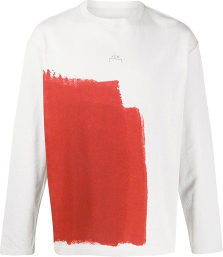 A-Cold-Wall* Long sleeve abstract print top