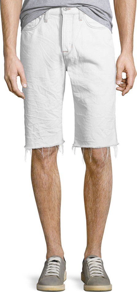 Hudson Men's Dixon Frayed Shorts