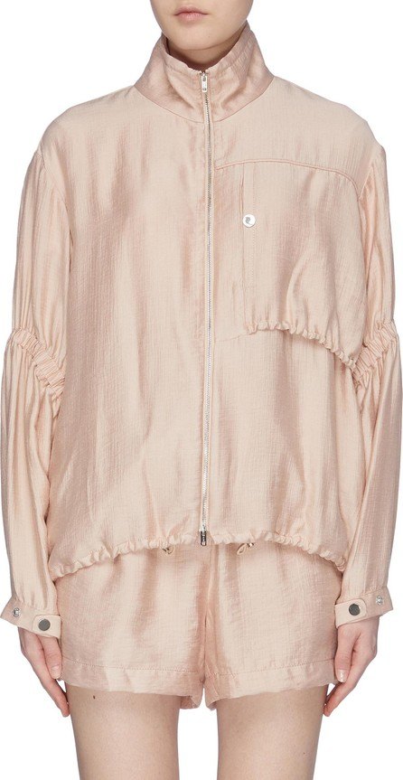 3.1 Phillip Lim Ruched sleeve anorak