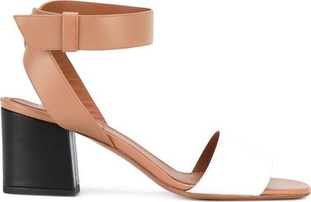 Givenchy colour block sandals