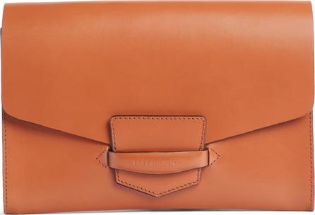 Dries Van Noten Leather Envelope Clutch