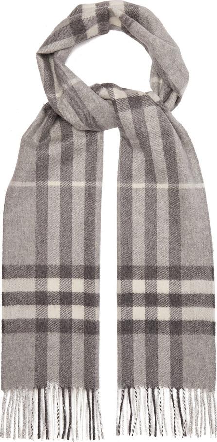 Burberry London England Giant cashmere check cashmere scarf